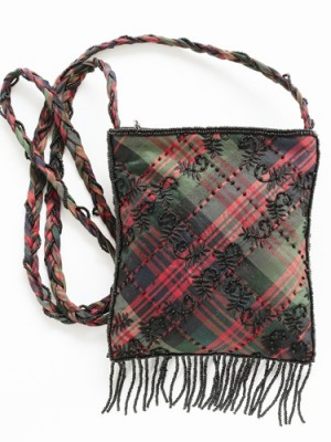Evening Bag with Tassel- Modern MacDonald