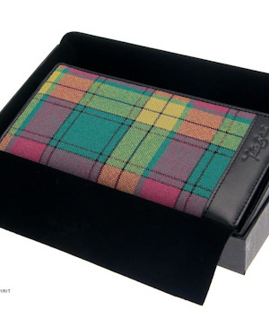 ladies tartan wallet