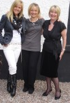 Ashley Jensen, Joyce Young and Barbara Rafferty