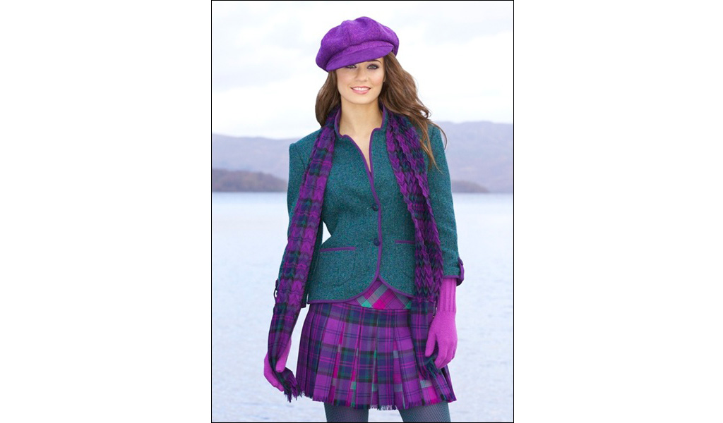 Harris Tweed Jacket & Kiltie Skirt
