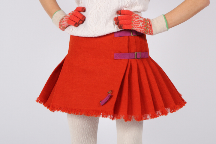Luxury Kilt - Orange