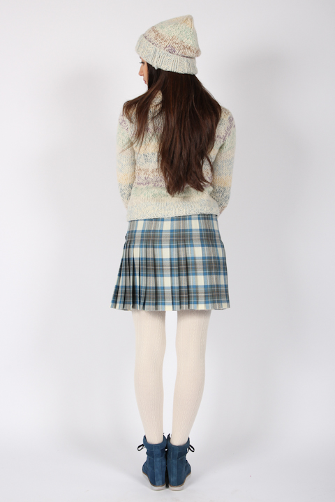 Luxury Tartan Kilt - Stewart Muted Blue