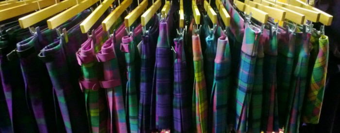 Carnoustie golf course Kiltie Skirts
