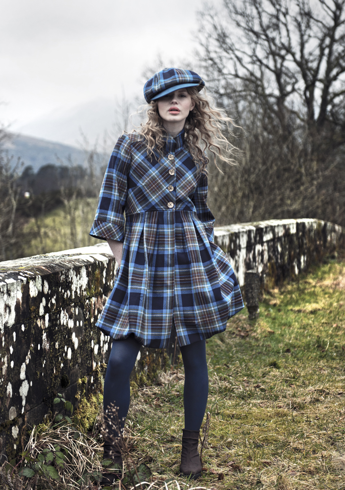 Tartan Spirit Holyrood Coat / Dress